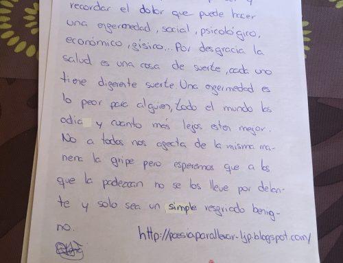 COMENTARIOS SOBRE POESÍAS PARA LLEVAR